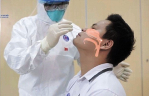 test covid-19 mà chọc vào mũi đã nâng có sao không