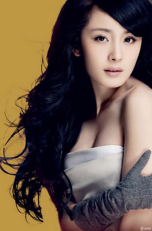 Những mỹ nhân ngực đẹp ở Trung Quốc